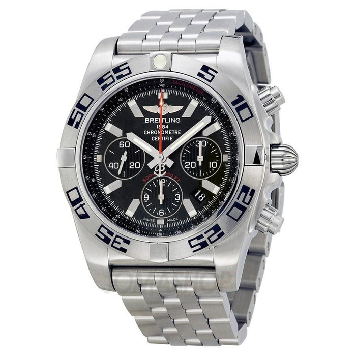 Breitling Men's AB011610-BB08 Chronomat 44 Automatic Chronograph Stainless Steel Watch