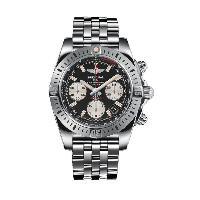 Breitling Men's AB01442J-BD26 Chronomat 41 Airborne Chronograph Automatic Stainless Steel Watch