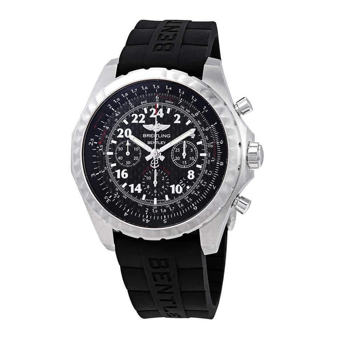 Breitling Men's AB022022-BC84-244S Bentley 24H Chronograph Black Rubber Watch