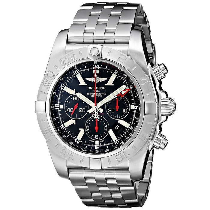 Breitling Men's AB041210-BB48 Chronomat GMT Chronograph Automatic Stainless Steel Watch