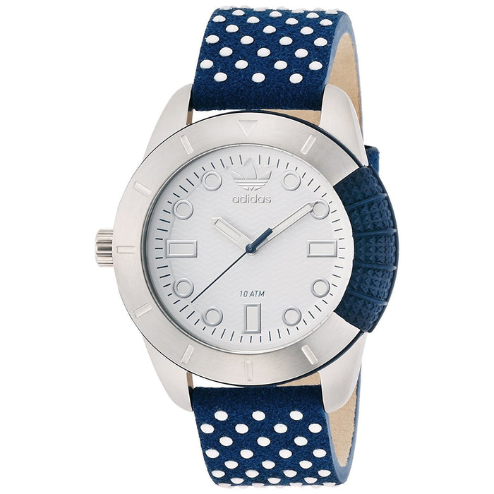 Adidas Men's ADH3054 Manchester Blue Leather Watch