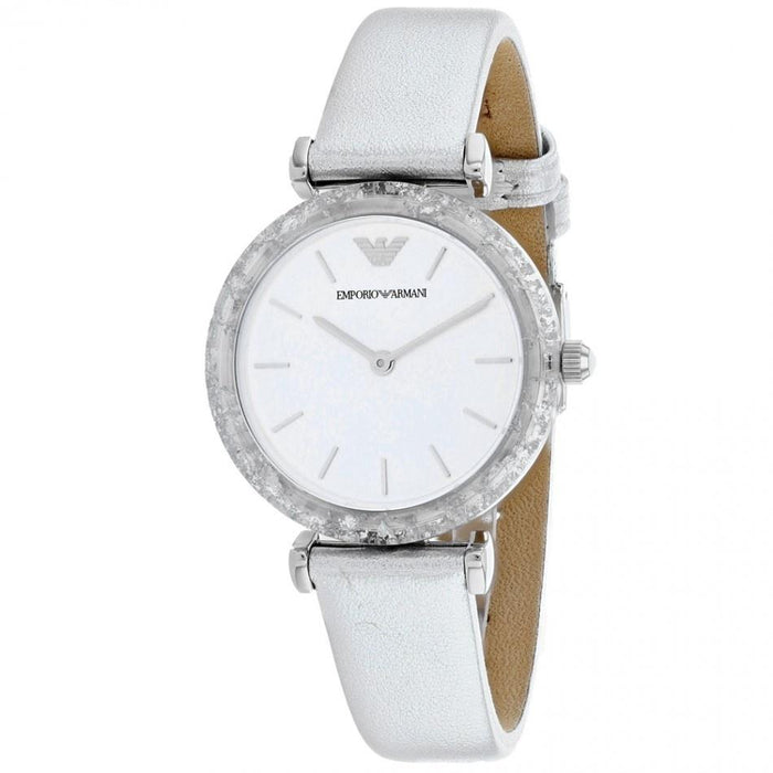 Emporio Armani Women's AR11124 Classic Leather Watch