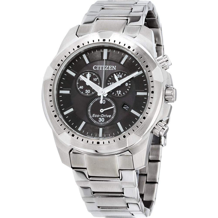 Citizen Men's AT2260-53E Eco-Drive Chronograph,Solar Stainless Steel Watch