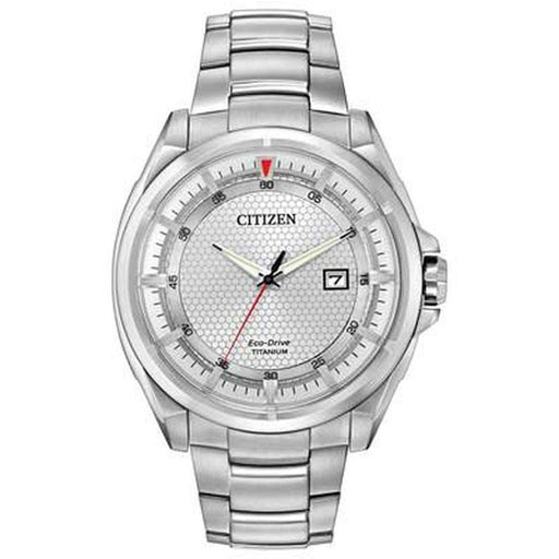 Citizen Men's AW1400-87A Eco-Drive Titanium Watch