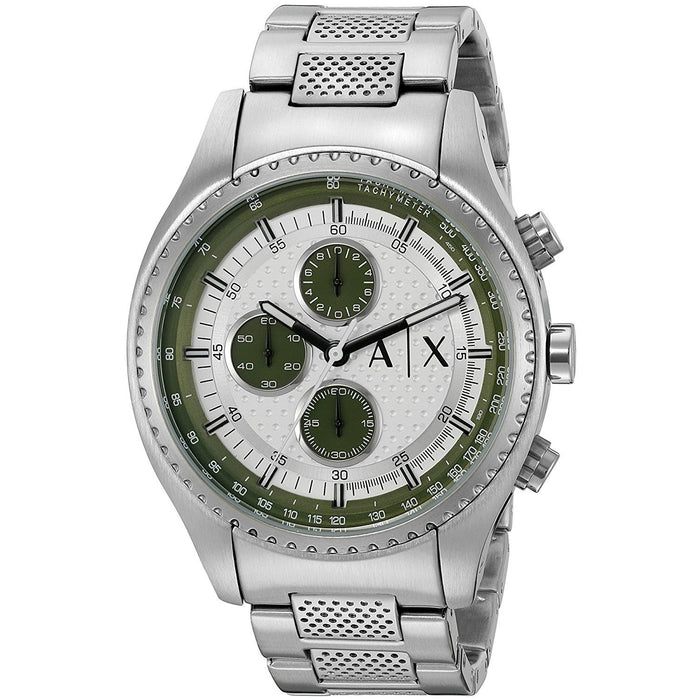 Armani Exchange Men's AX1613 The Driver Chronograph Stainless Steel Watch