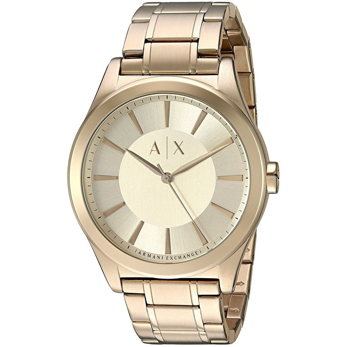 Armani Exchange Men's AX2321 Smart Gold-Tone Stainless Steel Watch