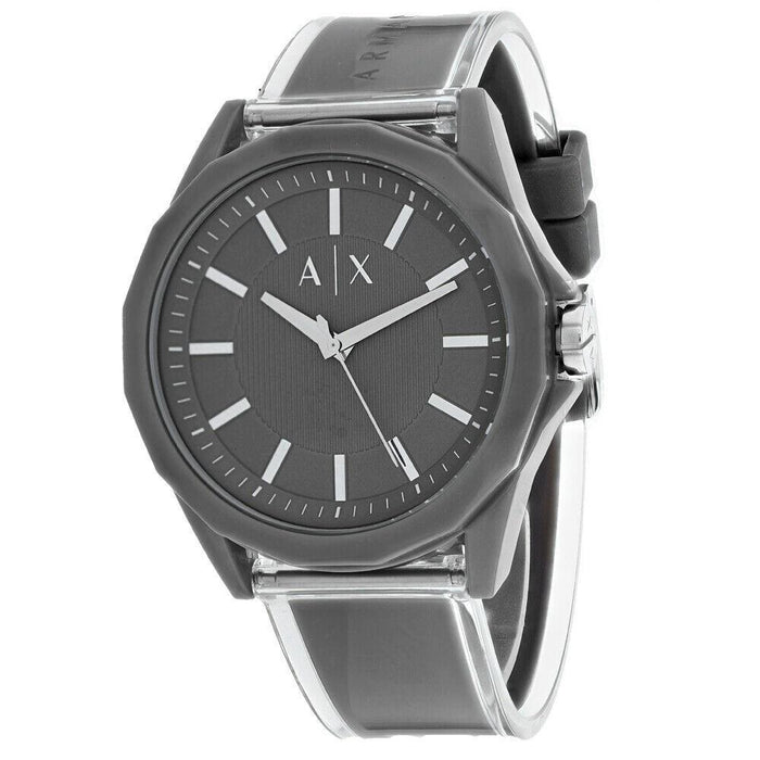 Armani Exchange Men's AX2633 Classic Grey Plastic Watch