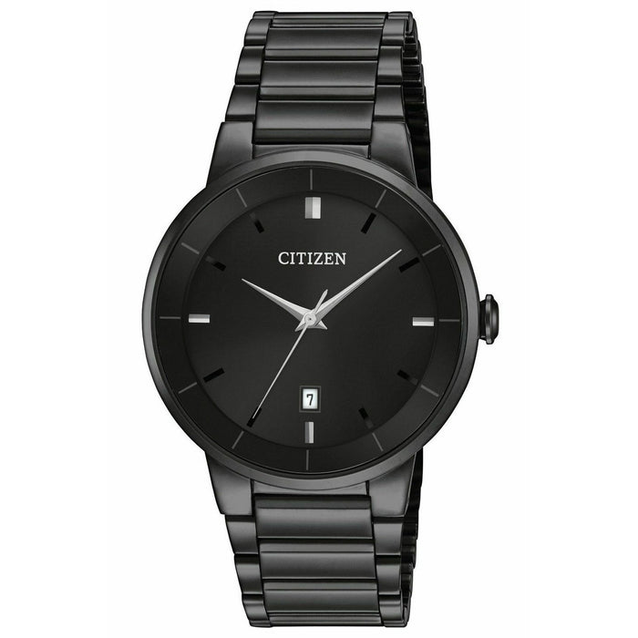Citizen Men's BI5017-50E Citizen Classic Black Stainless Steel Watch