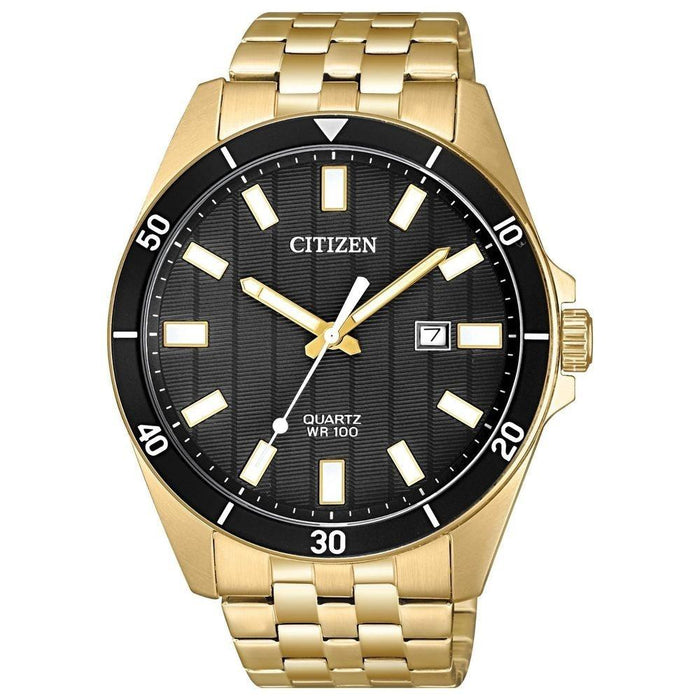 Citizen Men's BI5052-59E Citizen Classic Gold-Tone Stainless Steel Watch
