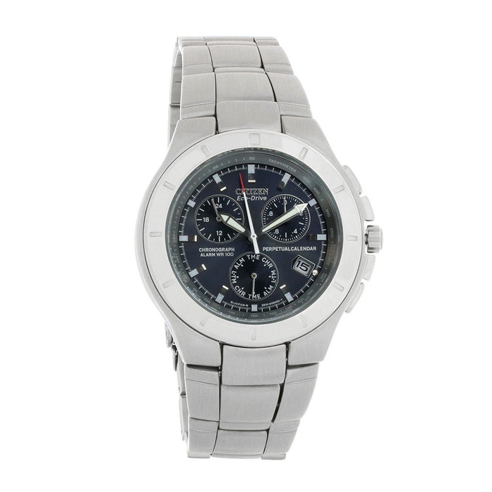 Citizen Men's BL5000-51L Eco-Drive Chronograph Stainless Steel Watch