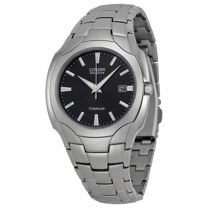 Citizen Men's BM6560-54H Eco-Drive Grey Stainless Steel Watch