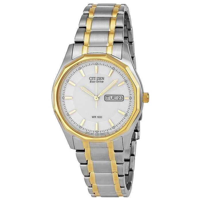 Citizen Men's BM8434-58A Eco-Drive Two-Tone Stainless Steel Watch