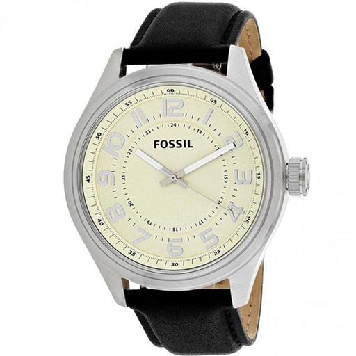 Fossil Men's BQ2246 Classic Black Leather Watch