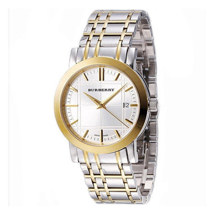 Burberry Women's BU1359 Heritage Two-Tone Stainless Steel Watch