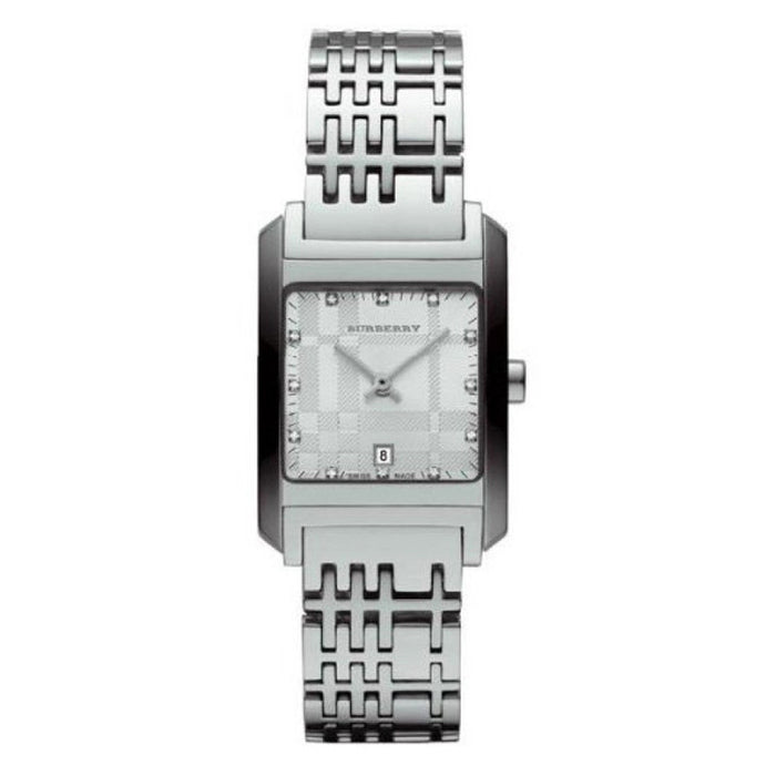 Burberry Women's BU1583 Heritage Diamond Stainless Steel Watch