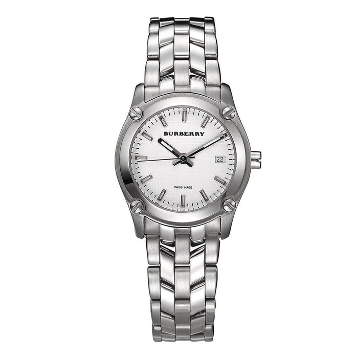 Burberry Women's BU1853 Heritage Check Stainless Steel Watch