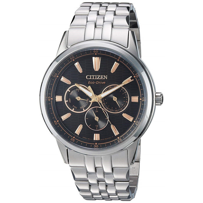Citizen Men's BU2070-55E Corso Stainless Steel Watch
