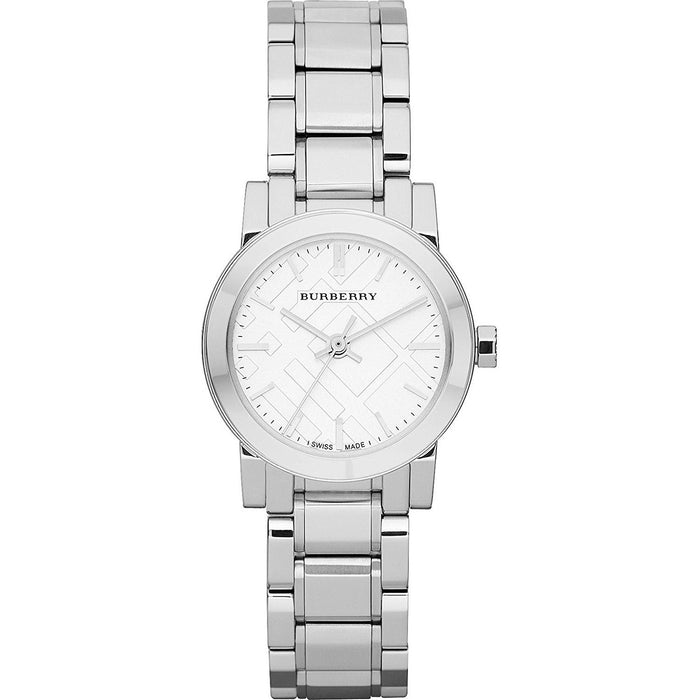Burberry Women's BU9200 The City Check Stainless Steel Watch