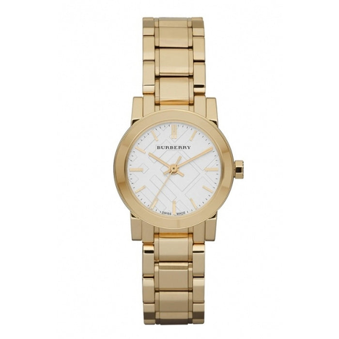 Burberry Women's BU9203 The City Gold-Tone Stainless Steel Watch