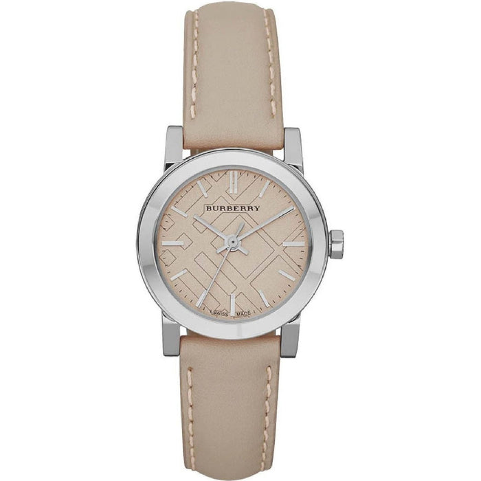 Burberry Women's BU9207 The City Beige Leather Watch