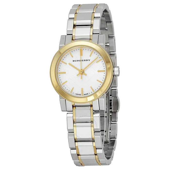 Burberry Women's BU9217 The City Two-Tone Stainless Steel Watch