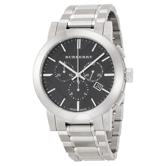 Burberry Men's BU9351 Large Check Chronograph Stainless Steel Watch