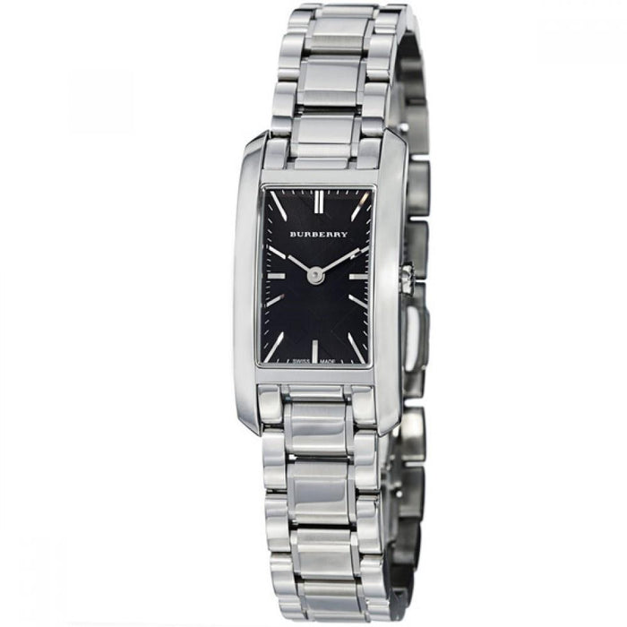 Burberry Women's BU9501 Check Engraved Stainless Steel Watch