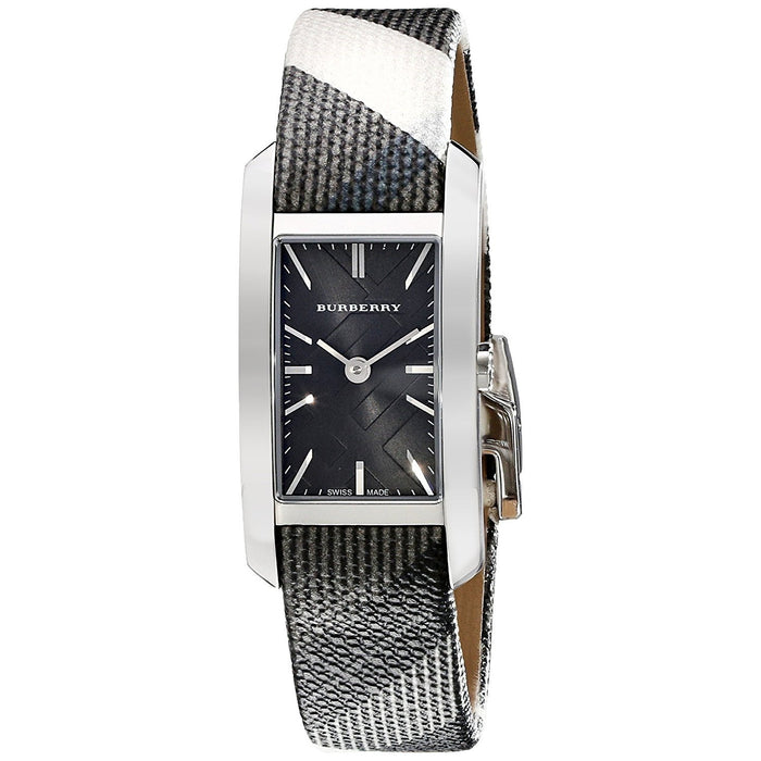 Burberry Women's BU9505 Nova Check Black Canvas Watch