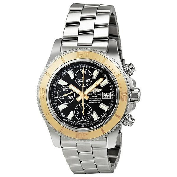 Breitling Men's C1334112-BA84 Superocean Chronograph Automatic 18kt Rose Gold Stainless Steel Watch