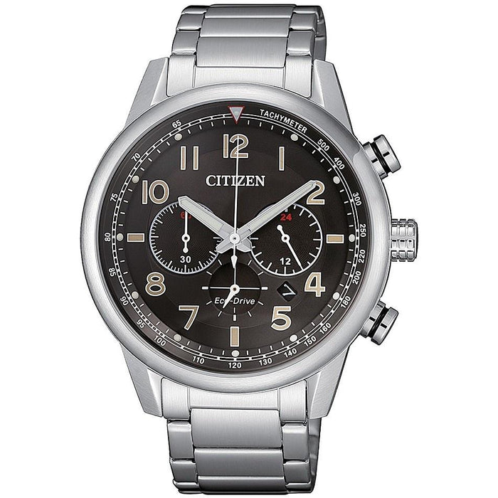 Citizen Men's CA4420-81E Eco-Drive Chronograph Stainless Steel Watch
