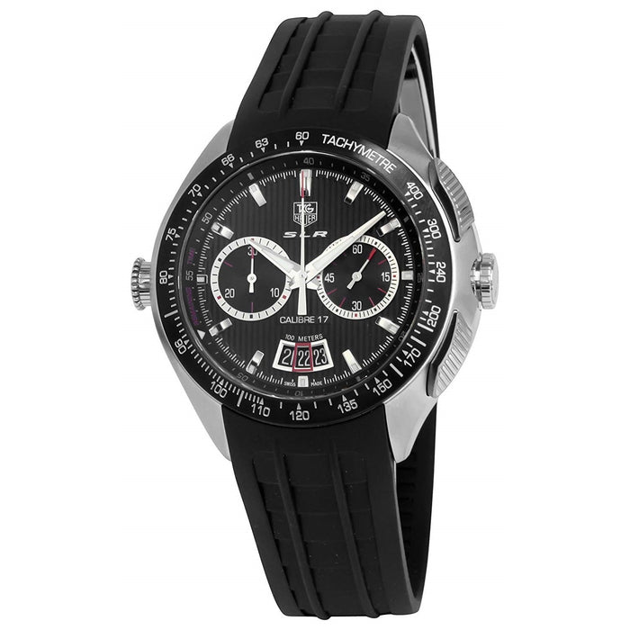 Tag Heuer Men's CAG2010.FT6013 SLR Mercedes Benz Chronograph Automatic Black Rubber Watch