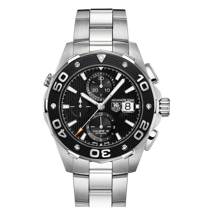 Tag Heuer Men's CAJ2110.BA0872 Aquaracer Chronograph Automatic Stainless Steel Watch