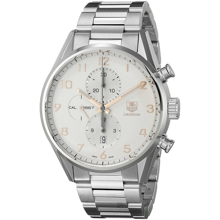 Tag Heuer Men's CAR2012.BA0799 Carrera Chronograph Automatic Stainless Steel Watch