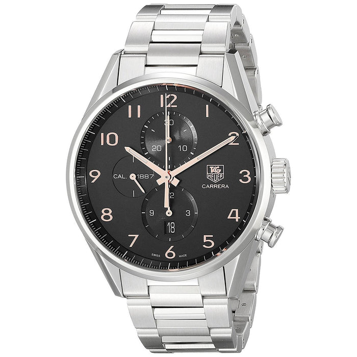 Tag Heuer Men's CAR2014.BA0799 Carrera Chronograph Automatic Stainless Steel Watch