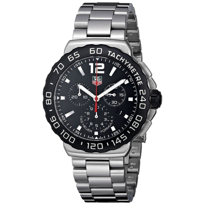 Tag Heuer Men's CAU1110.BA0858 Formula 1 Chronograph Stainless Steel Watch