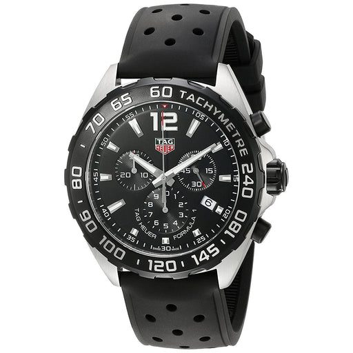 Tag Heuer Men's CAZ1010.FT8024 Formula One Chronograph Black Rubber Watch