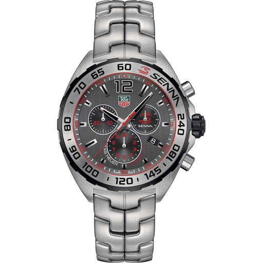 Tag Heuer Men's CAZ1012.BA0883 Formula 1 Senna Chronograph Stainless Steel Watch