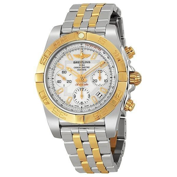 Breitling Men's CB0140Y2-A743 Chronomat Chronograph Automatic 18kt Rose Gold Two-Tone Stainless Steel Watch