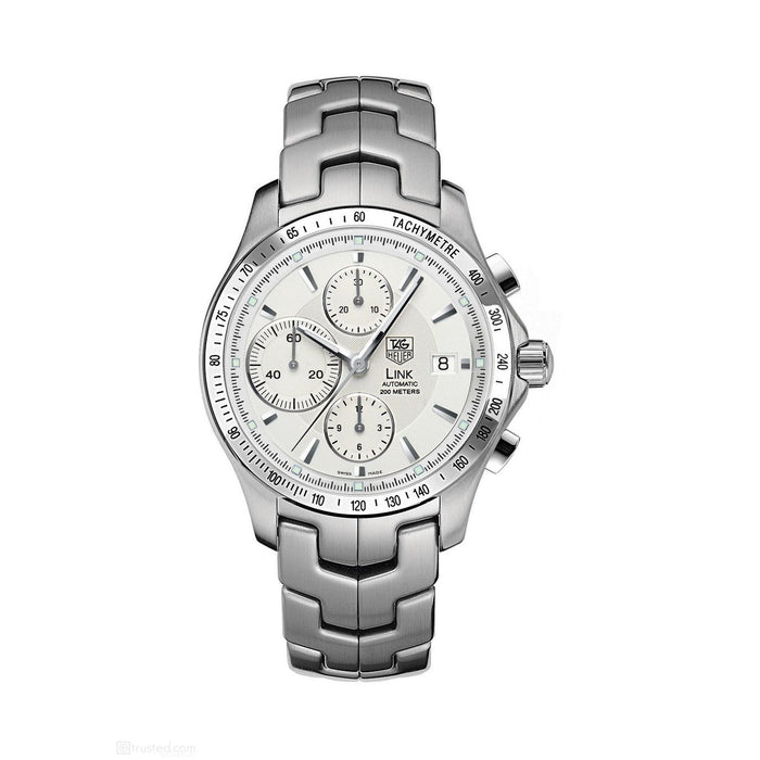 Tag Heuer Men's CJF2111.BA0594 Link Chronograph Automatic Stainless Steel Watch