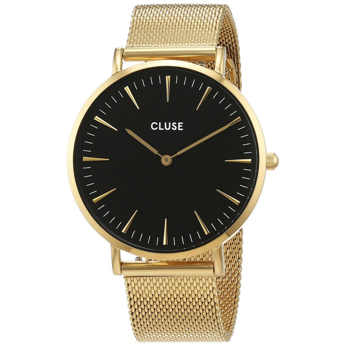 Cluse Women's CL18110 La Boheme Gold-Tone Stainless Steel Watch