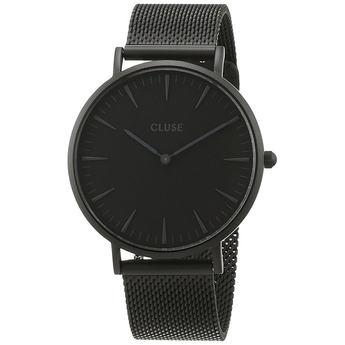 Cluse Women's CL18111 La Boheme Black Stainless Steel Watch