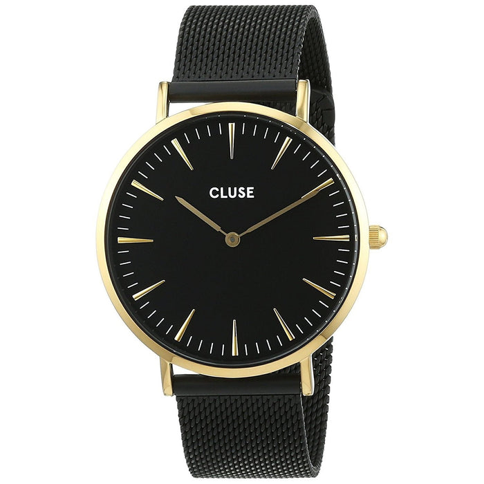 Cluse Women's CL18117 La Boheme Black Stainless Steel Watch