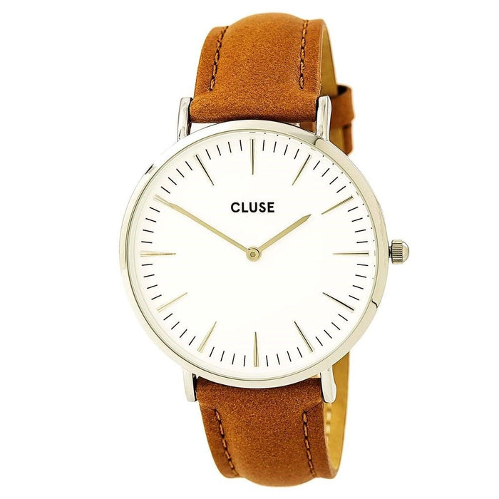 Cluse Women's CL18211 La Boheme Brown Leather Watch