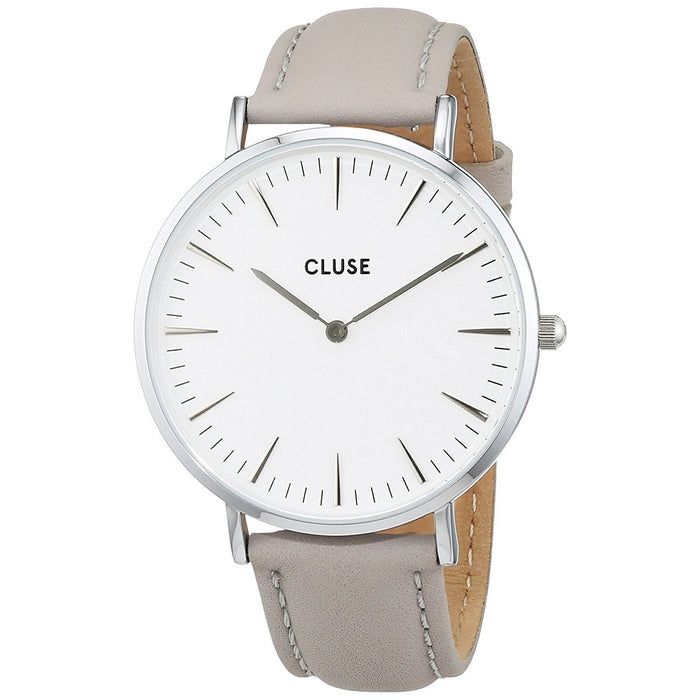 Cluse Women's CL18215 La Boheme Grey Leather Watch