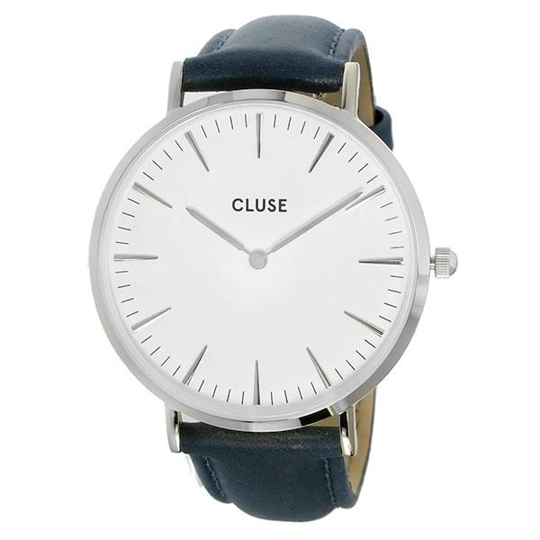 Cluse Women's CL18216 La Boheme Blue Leather Watch