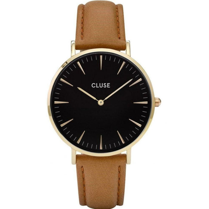 Cluse Women's CL18404 La Boheme Brown Leather Watch