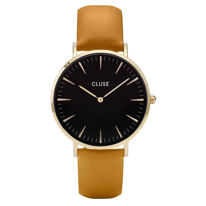 Cluse Women's CL18420 La Boheme Brown Leather Watch