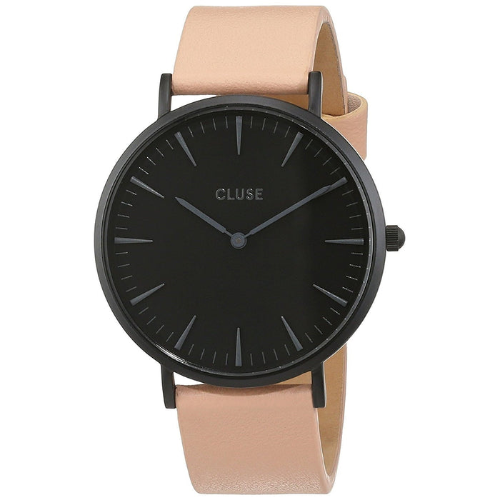 Cluse Women's CL18503 La Boheme Nude Leather Watch