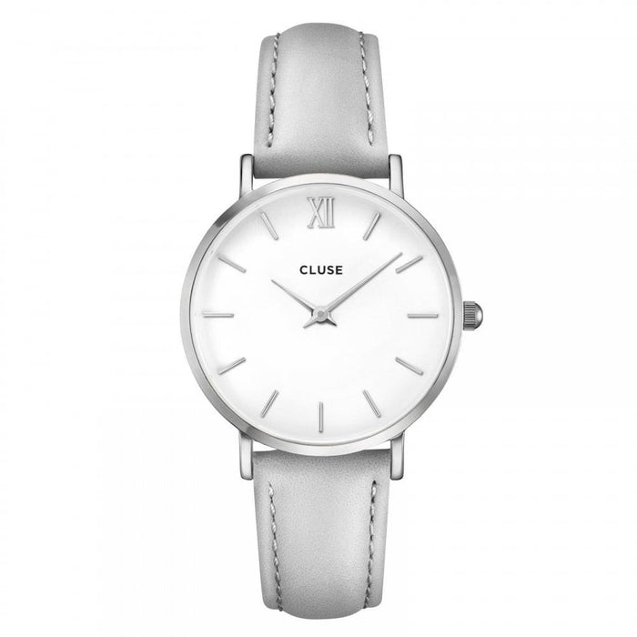 Cluse Women's CL30006 Minuit Grey Leather Watch