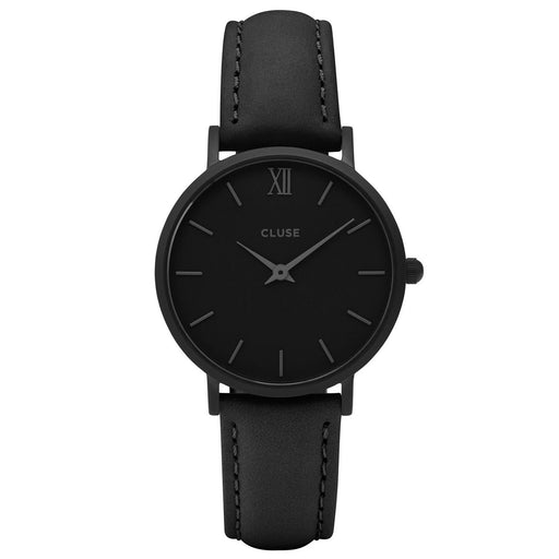 Cluse Women's CL30008 Minuit Black Leather Watch